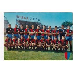 CAGLIARI SQUADRA 1967, VIAGGIATA