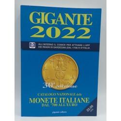 GIGANTE 2022 CATALOGO NAZIONALE DELLE MONETE ITALIANE DAL 700' ALL EURO NUOVO