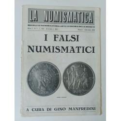 LA NUMISMATICA MENSILE I FALSI NUMISMATICI ANNO I N'7 BRESCIA 1970