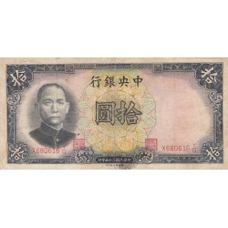 CINA 10 DOLLARI 1928