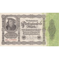 GERMANIA 50000 MARCHI 1922