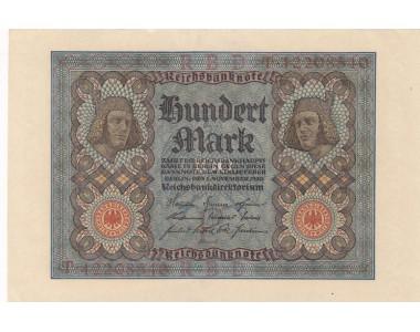 GERMANIA 100 MARK 1920 FDS