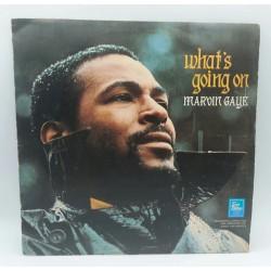 MARVIN GAYE WHAT'S GOING ON 1971 UK LP TAMLA MOTOWN 1ST WHIT INSERT , RARE