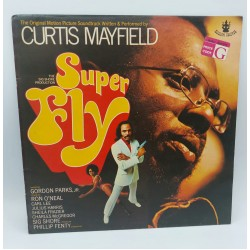 CURTIS MAYFIELD SUPERFLY LP 1972  BUDDAH RECORDS