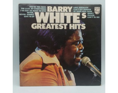 BARRY WHITE GREATEST HITS 1975 LP