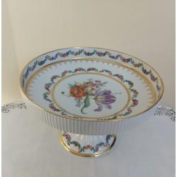 Alzata in porcellana Vieux Limoges