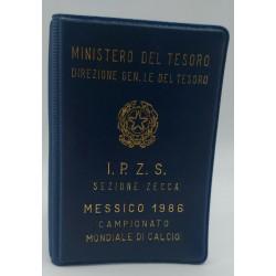 500 LIRE 1986 MONETA CELEBRATIVA DEL CAMPIONATO MONDIALE DI CALCIO 1986