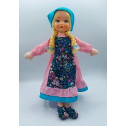 Ceppiratti bambola in pezza e celluloide