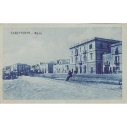 CARLOFORTE - MARINA, CARTOLINA VIAGGIATA 1923
