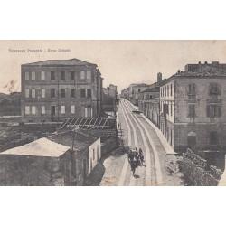 TERRANOVA PAUSANA CORSO UMBERTO, CARTOLINA VIAGGIATA 1922
