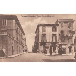 TERRANOVA PAUSANIA - PIAZZA REGINA MARGHERITA, CARTOLINA VIAGGIATA 1929