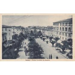 SASSARI - PIAZZA CAVALLINO DE HONESTIS , VIAGGIATA 1935