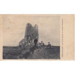 OSILO (SASSARI) LA TORRE GRANDE DEL CASTELLO MALASPINA VIAGGIATA 1926