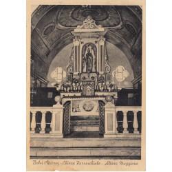 BELVI (NUORO) CHIESA PARROCCHIALE ALTARE MAGGIORE, VIAGGIATA 1942