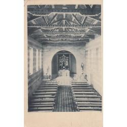 CUGLIERI (NUORO) PONT. SEMINARIO MAGGIORE SARDO DEL S. CUORE INTERNO DELLA CAPPELLA , VIAGGIATA 1931