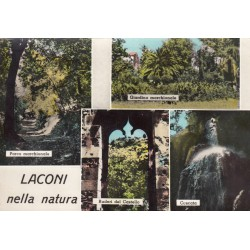 LACONI (ORISTANO) NATURA, CARTOLINA SCRITTA NON VIAGGIATA , ANNI 50-60