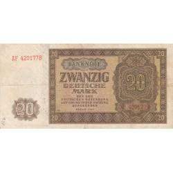 GERMANIA 20 MARK 1948
