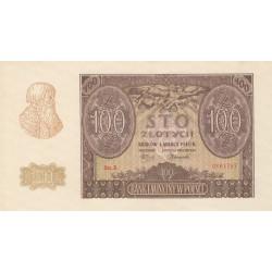POLONIA 100 ZLOTY 1940