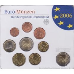 GERMANIA SERIE DIVISIONALE EURO 2006 IN CONFEZIONE ORIGINALE ZECCA BAYERISHES HAUPTMUNZAMT MUNCHEN -D-