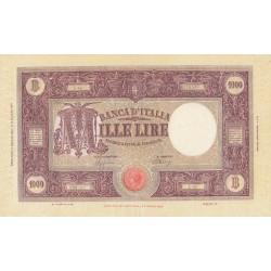 1000 LIRE BARBETTI 01/08/1944 CONSERVAZIONE SPL+