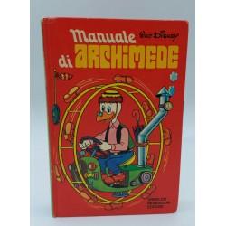 MANUALE DI ARCHIMEDE ARNOLDO MONDADORI EDITORE WALT DISNEY 1973