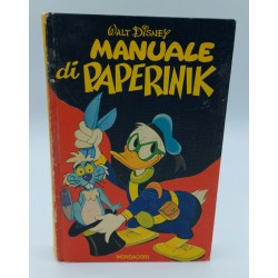 MANUALE DI PAPERINIK WALT DISNEY 1972 ARNOLDO MONDADORI EDITORE