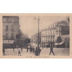 CAGLIARI - CORSO VITTORIO EMANUELE CARTOLINA VIAGGIATA 1922