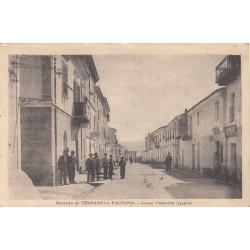 TERRANOVA PAUSANIA - CORSO UMBERTO  (LEVANTE) CARTOLINA VIAGGIATA 1921