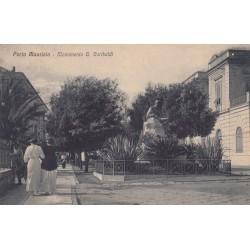 PORTO MAURIZIO - MONUMENTO G. GARIBALDI, CARTOLINA VIAGGIATA 1922