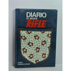 DIARIO IN JEANS RIFLE GIUNTI NARDINI EDITORE 1987 NUOVO VINTAGE