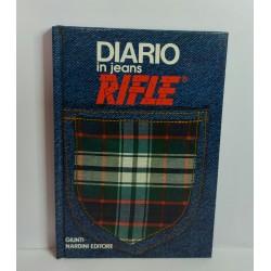 DIARIO IN JEANS RIFLE 1987 GIUNTI NARDINI EDITORE VINTAGE