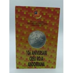 ANDORRA 25 DINARS 1991