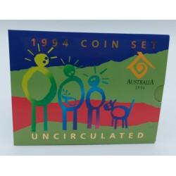 AUSTRALIA SERIE DIVISIONALE 1994 IN CONFEZIONE ZECCA