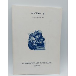 CATALOGO NUMISMATICA ARS CLASSICA AG AUCTION B- FEBBRIO 1992 , GREEK, ROMAN, BYZANTINE AND MEDIAEVAL COINS