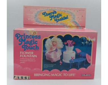PRINCESS MAGIC TOUCH FLOWER FOUNTAIN - COLECO 1987