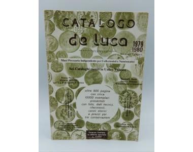CATALOGO DE LUCA 1979-1980 TIRATURA LIMITATA