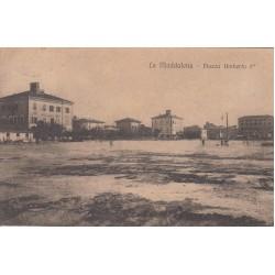 LA MADDALENA- PIAZZA UMBERTO I , CARTOLINA  VIAGGIATA 1917