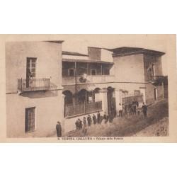 SANTA TERESA DI GALLURA - PALAZZO DELLA FINANZA , CARTOLINA VIAGGIATA 1922