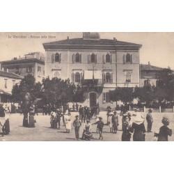 LA MADDALENA- PALAZZO DELLA DIFESA, CARTOLINA VIAGGIATA 1921