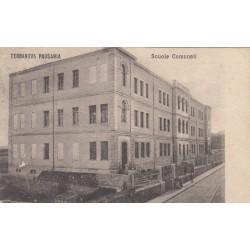 TERRANOVA PAUSANIA , SCUOLE COMUNALI , CARTOLINA VIAGGIATA 1920