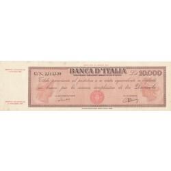 10000 LIRE TITOLO PROVVISORIO 12.6.1950 MEDUSA