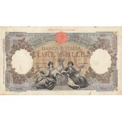 1000 LIRE 13.2.1943 REPUBBLICA MARINARA