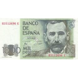 SPAGNA 1000 PESETAS 1979