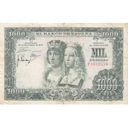 SPAGNA 1000 PESETAS 1957