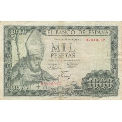 SPAGNA 1000 PESETAS 1965