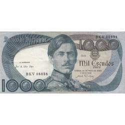 PORTOGALLO 1000 SCUDI 1968