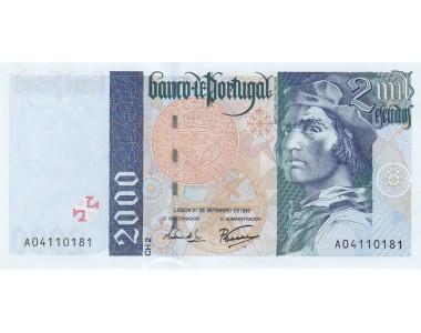 PORTOGALLO 2000 SCUDI 1995 UNC