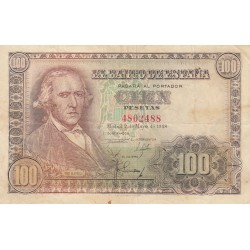 SPAGNA 100 PESETAS 1948