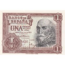 SPAGNA 1 PESETA 1953 UNC