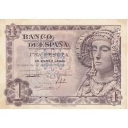 SPAGNA 1 PESETA 1948